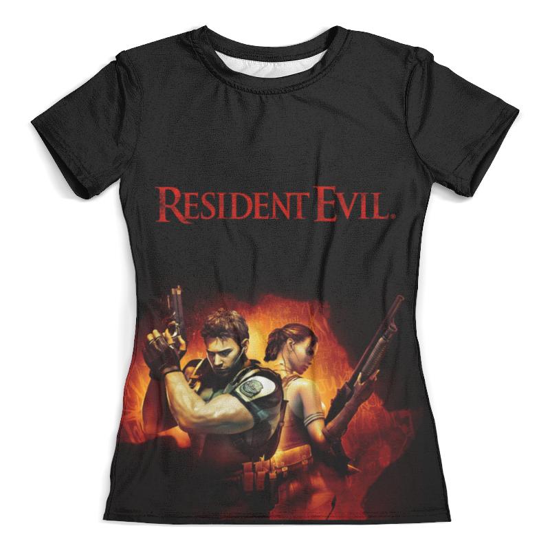 Футболка с полной запечаткой (женская) Printio Resident evil resident evil underworld