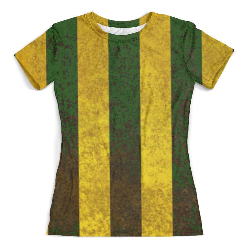 Футболка с полной запечаткой (женская) Printio Полосы 2 футболка с полной запечаткой женская printio фиолетовые полосы