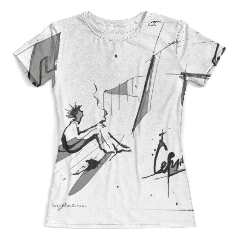 Футболка с полной запечаткой (женская) Printio Андеграунд серж футболка русский андеграунд