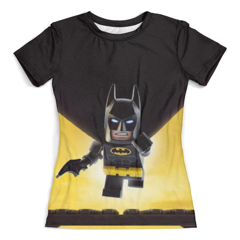 Футболка с полной запечаткой (женская) Printio Лего фильм: бэтмен / the lego batman movie lego batman movie 70916 лего фильм бэтмен бэтмолёт