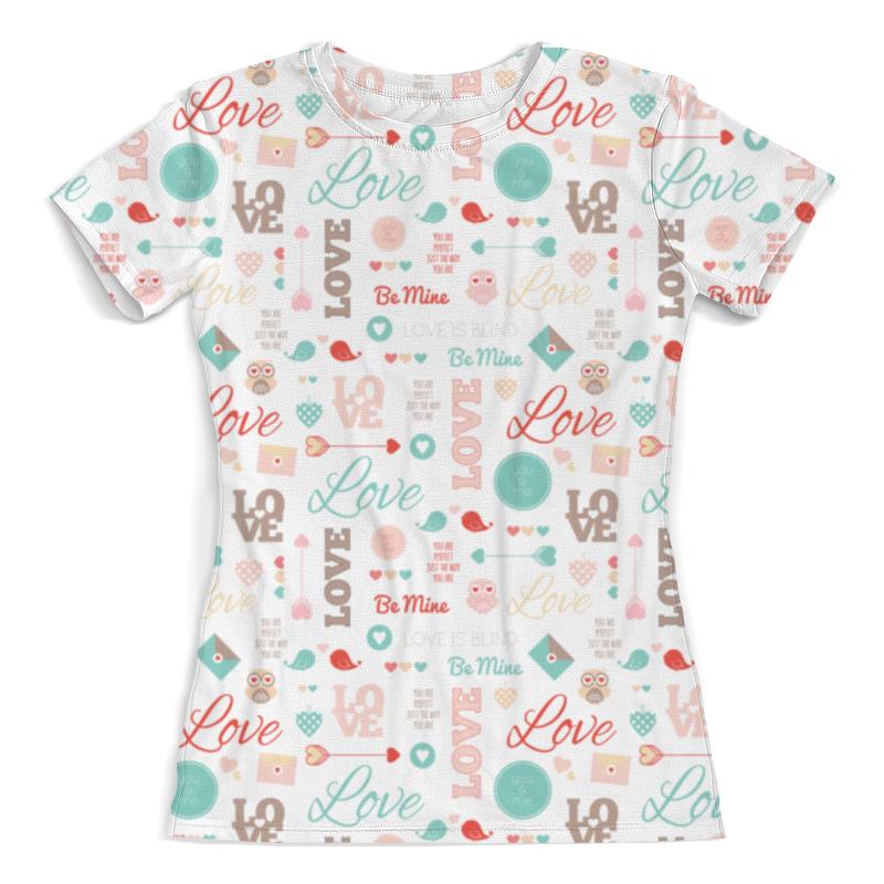 Printio Любовь футболка с полной запечаткой женская printio любовь моя религия