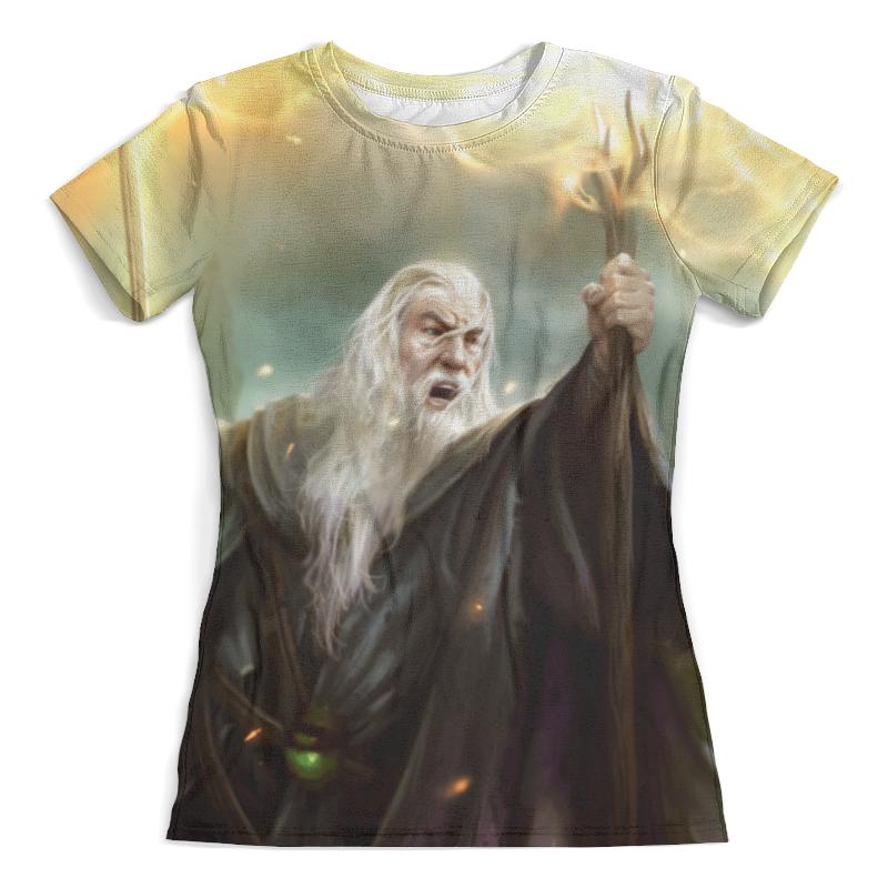 Футболка с полной запечаткой (женская) Printio The lord of the rings the lord of the rings the hobbit the concert halle saale