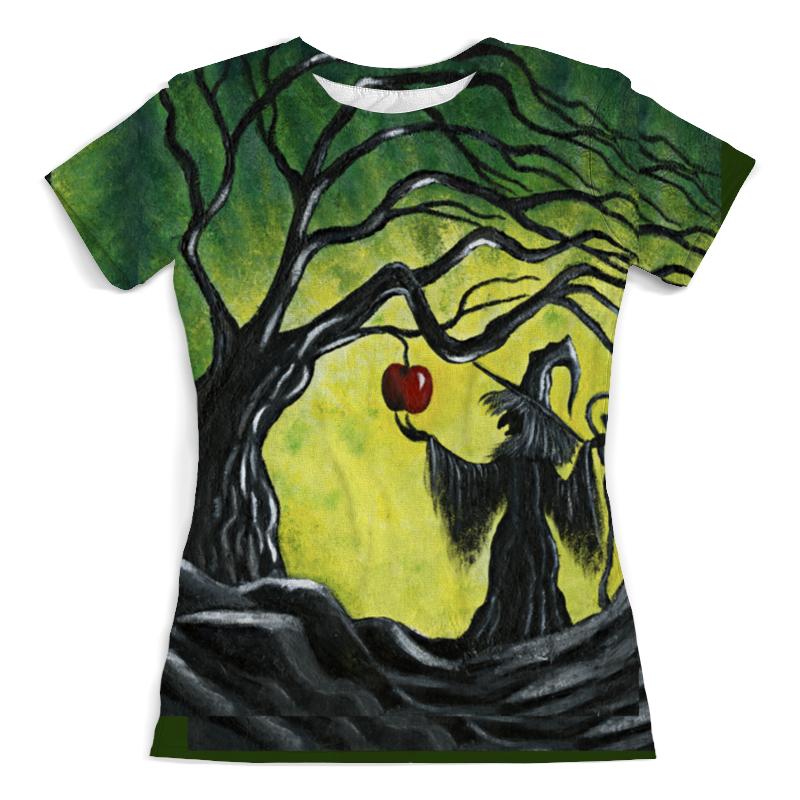 Футболка с полной запечаткой (женская) Printio Заколдованное яблоко футболка с полной запечаткой для девочек printio заколдованное яблоко
