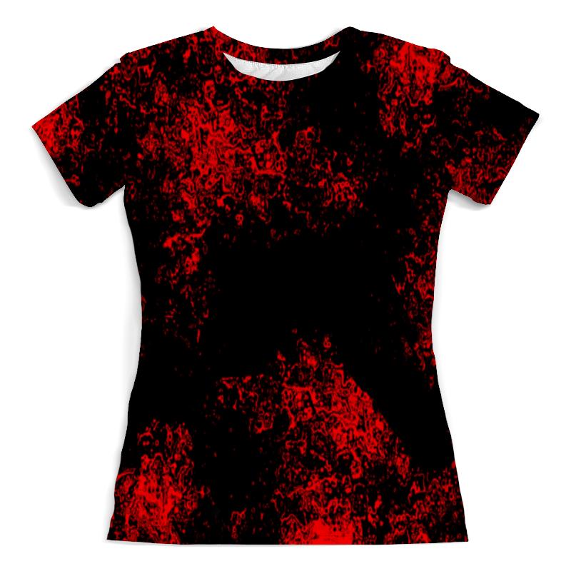 Printio Красная краска футболка красная