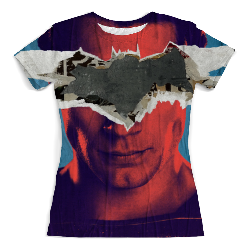Printio Бэтмен против супермена футболка с полной запечаткой женская printio тоня против всех