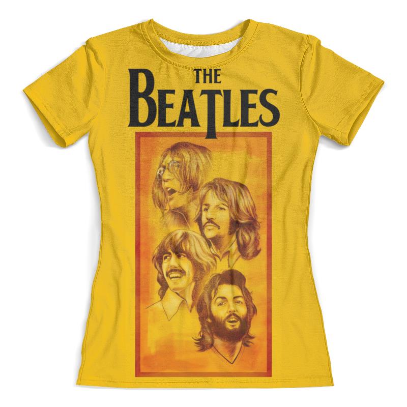 Футболка с полной запечаткой (женская) Printio The beatles футболка с полной запечаткой для девочек printio john lennon the beatles