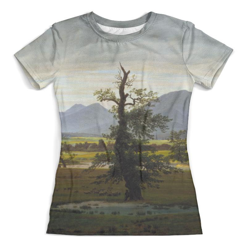 Футболка с полной запечаткой (женская) Printio Одинокое дерево (каспар давид фридрих) давид сеглевич вдруг вспомнилось