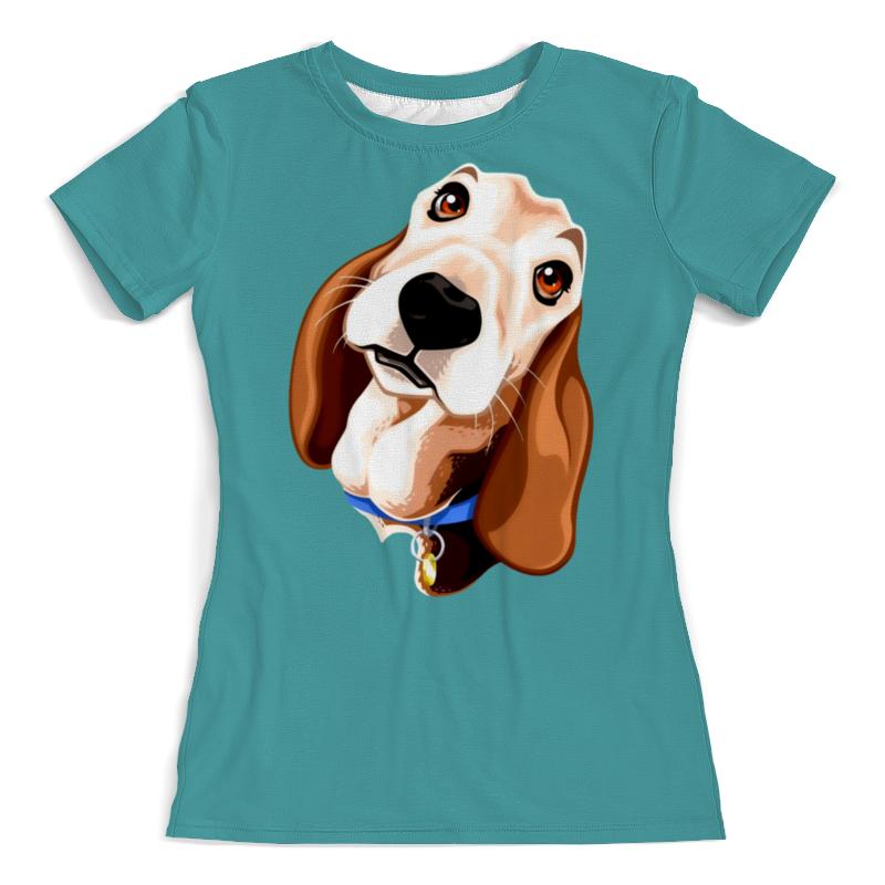 Printio Смешная собачка футболка с полной запечаткой женская printio смешная собачка