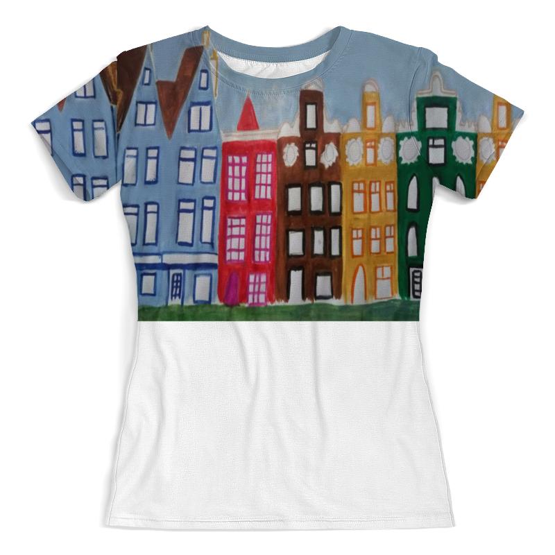 Футболка с полной запечаткой (женская) Printio Футболка амстердам футболка с полной запечаткой мужская printio амстердам