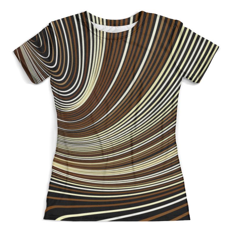 Футболка с полной запечаткой (женская) Printio Линии футболка с полной запечаткой женская printio line линии