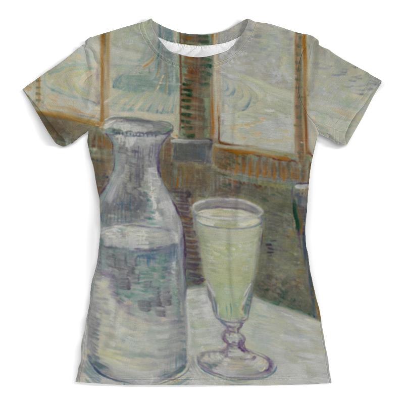 Printio Кафейный столик с абсентом (винсент ван гог) футболка с полной запечаткой женская printio цветущий сад с тропинкой винсент ван гог
