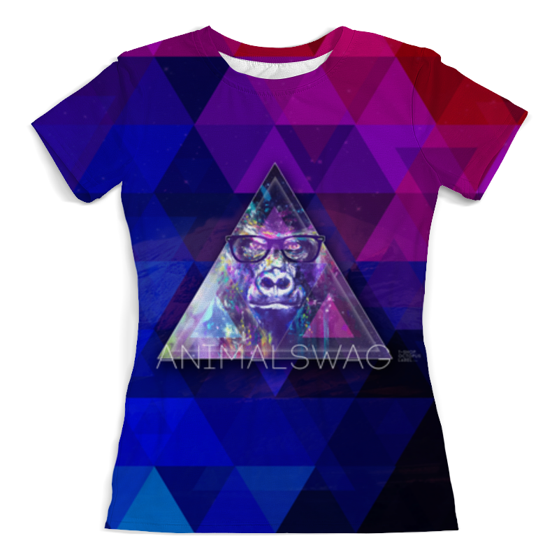 Printio animalswag ii collection: gorilla футболка с полной запечаткой женская printio animalswag ii collection deer