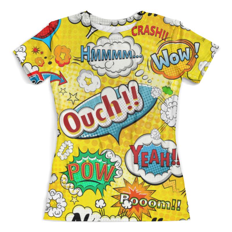 Футболка с полной запечаткой (женская) Printio Pop-art футболка с полной запечаткой женская printio anget art