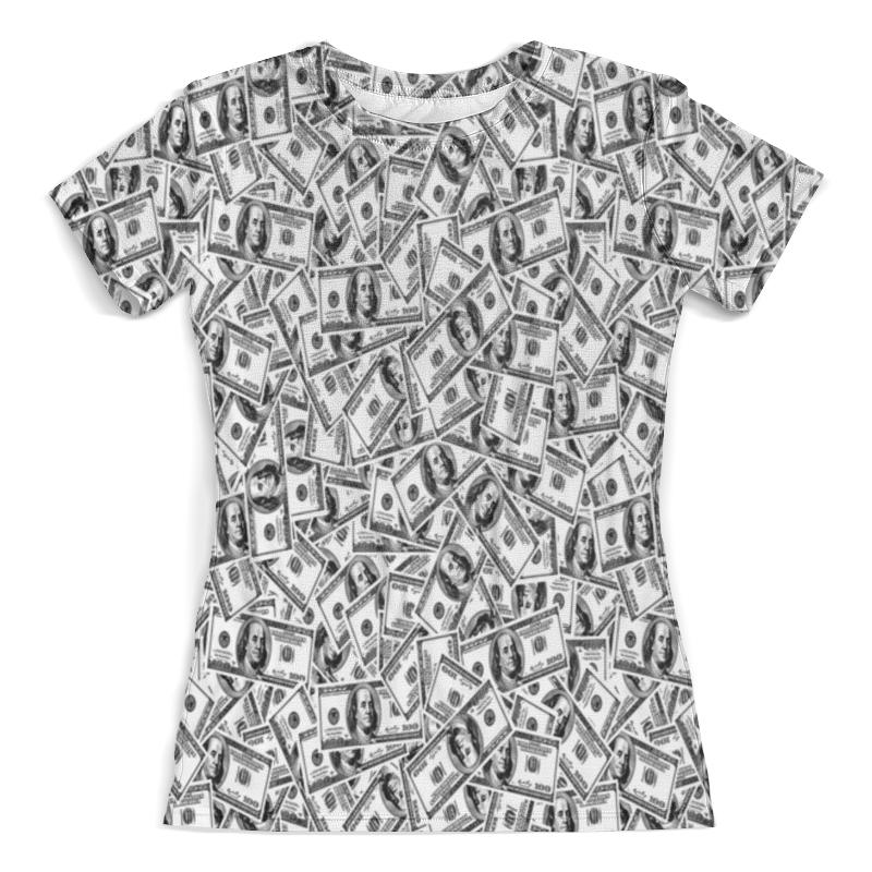Футболка с полной запечаткой (женская) Printio Доллар футболка с полной запечаткой для девочек printio доллар