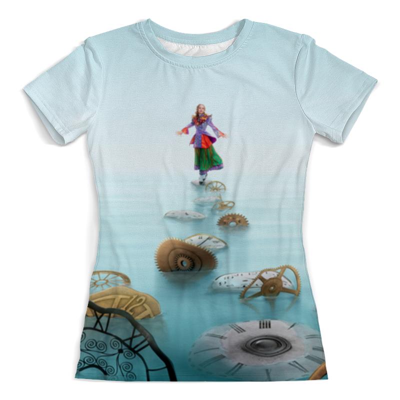 Футболка с полной запечаткой (женская) Printio Алиса футболка с полной запечаткой мужская printio алиса