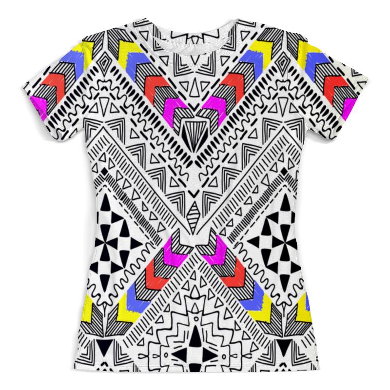 Printio Узор резной футболка с полной запечаткой женская printio резной узор