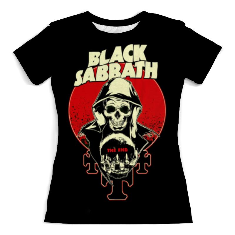 Футболка с полной запечаткой (женская) Printio Black sabbath футболка с полной запечаткой женская printio чёрная вдова black widow