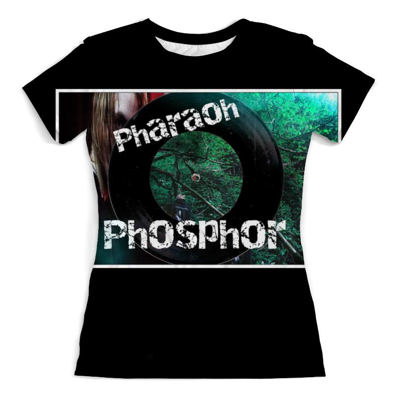 Футболка с полной запечаткой (женская) Printio Pharaoh поло print bar pharaoh