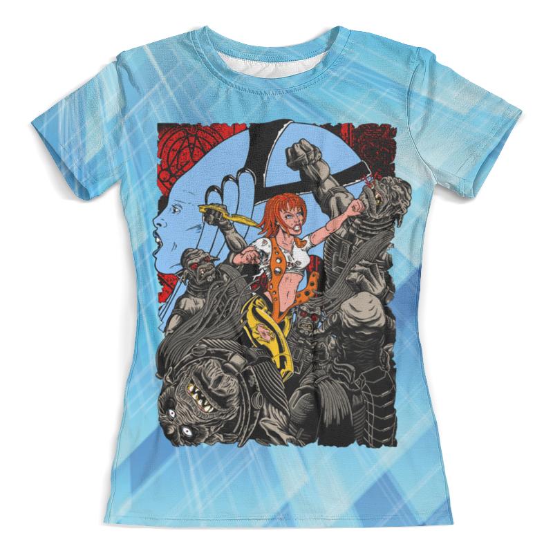 Футболка с полной запечаткой (женская) Printio The fifth element (leeloo) футболка с полной запечаткой женская printio fifth element