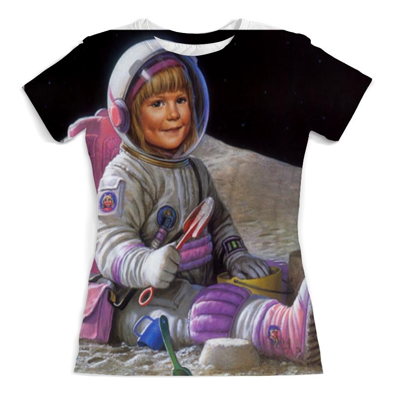 лучшая цена Printio Маленькая астронавтка