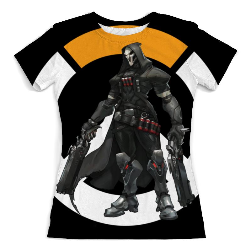 Футболка с полной запечаткой (женская) Printio Overwatch reaper / жнец овервотч футболка с полной запечаткой женская printio overwatch mei