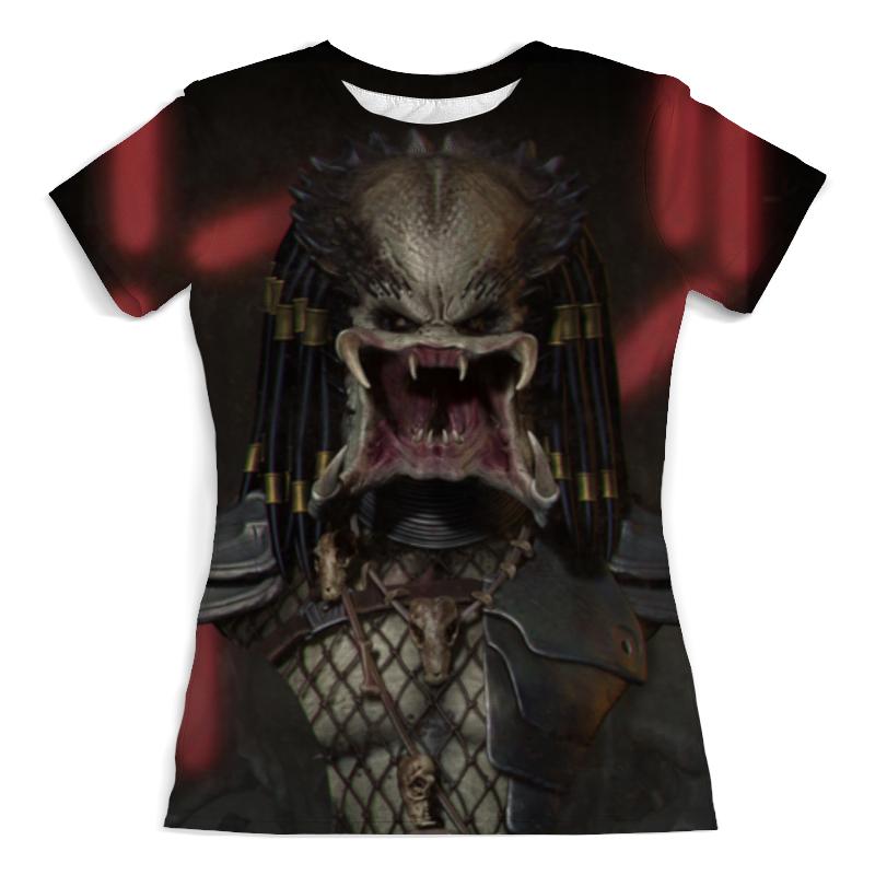 Футболка с полной запечаткой (женская) Printio Хищники / predator футболка с полной запечаткой мужская printio хищники predator