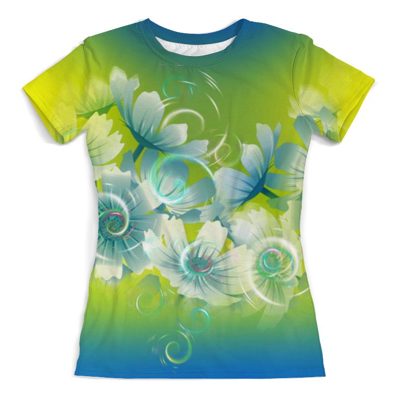Футболка с полной запечаткой (женская) Printio Цветочное настроение лета футболка с полной запечаткой женская printio цветение лета