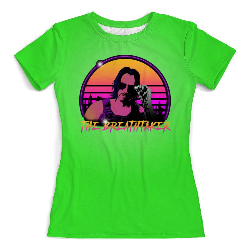Printio Киану ривз футболка с полной запечаткой женская printio blade