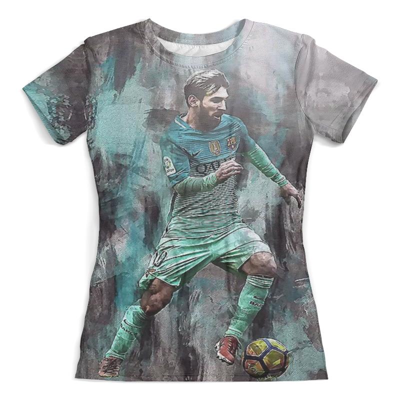 Футболка с полной запечаткой (женская) Printio Lionel messi (1) фигурка argentina lionel messi