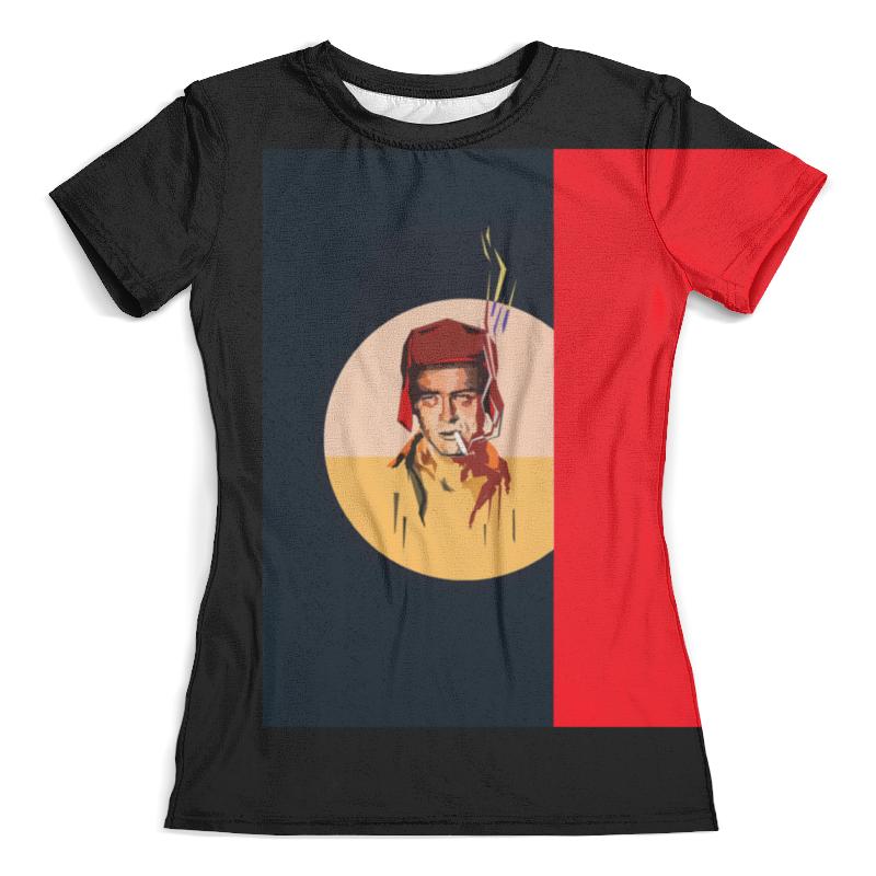 Футболка с полной запечаткой (женская) Printio Rebel футболка rebel spirit rebel spirit re032emspj40