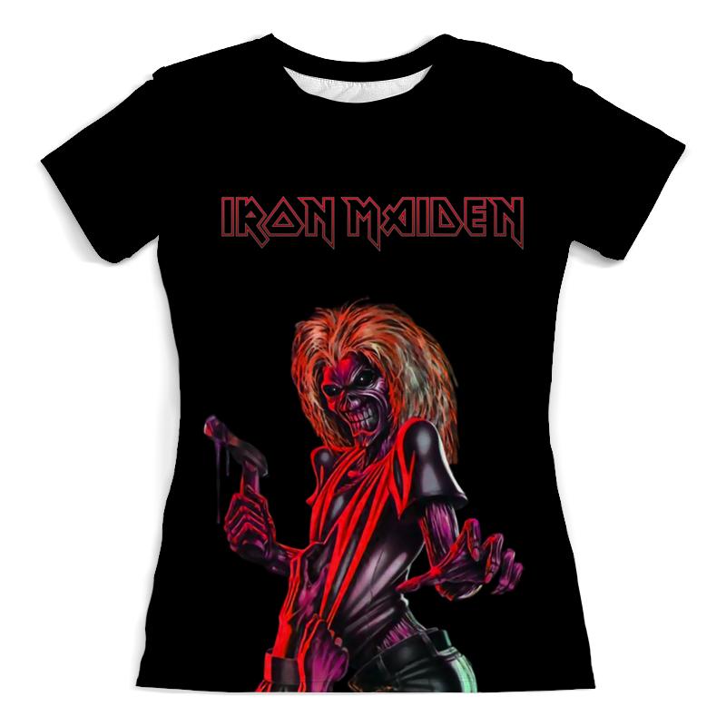 Футболка с полной запечаткой (женская) Printio Iron maiden футболка с полной запечаткой мужская printio iron maiden