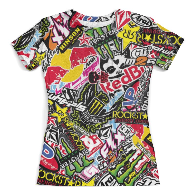 Футболка с полной запечаткой (женская) Printio Абстракция (1) футболка с полной запечаткой женская printio ритм 1 робер делоне