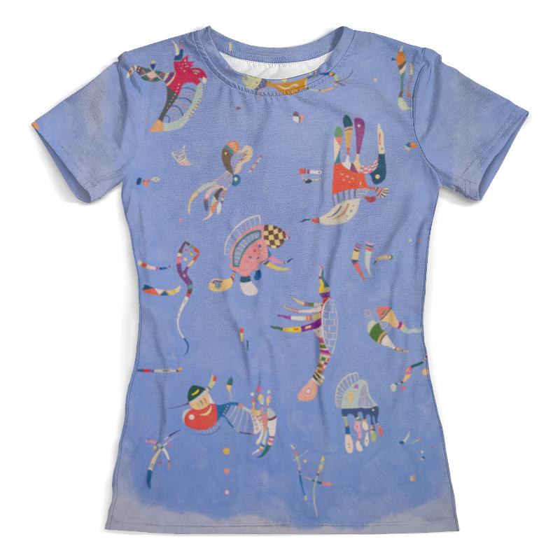 Футболка с полной запечаткой (женская) Printio Синее небо (василий кандинский) футболка с полной запечаткой женская printio свечки в небо
