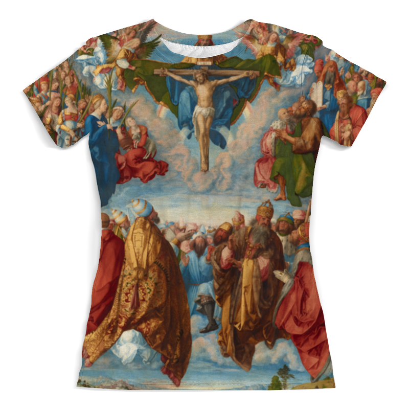 Printio Поклонение святой троице (альбрехт дюрер) альбрехт дюрер портреты альбом