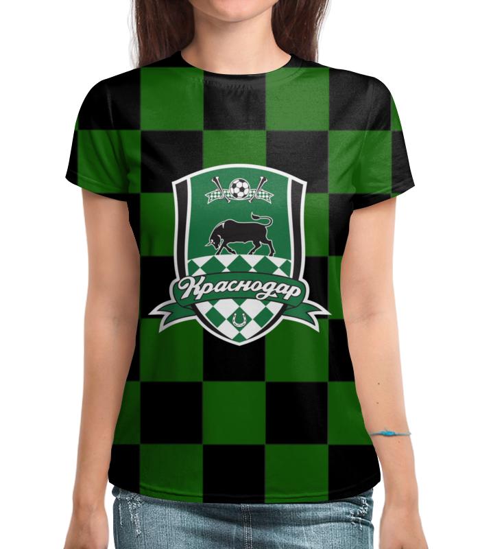 Футболка с полной запечаткой Printio Краснодар пфк