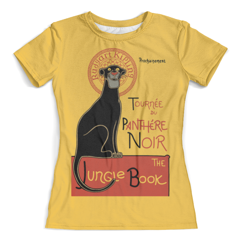 Футболка с полной запечаткой (женская) Printio Книга джунглей футболка с полной запечаткой для мальчиков printio книга джунглей the jungle book