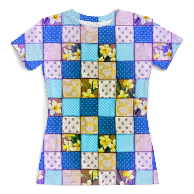 Футболка с полной запечаткой (женская) Printio Цветы (ковер) футболка с полной запечаткой printio цветы любви