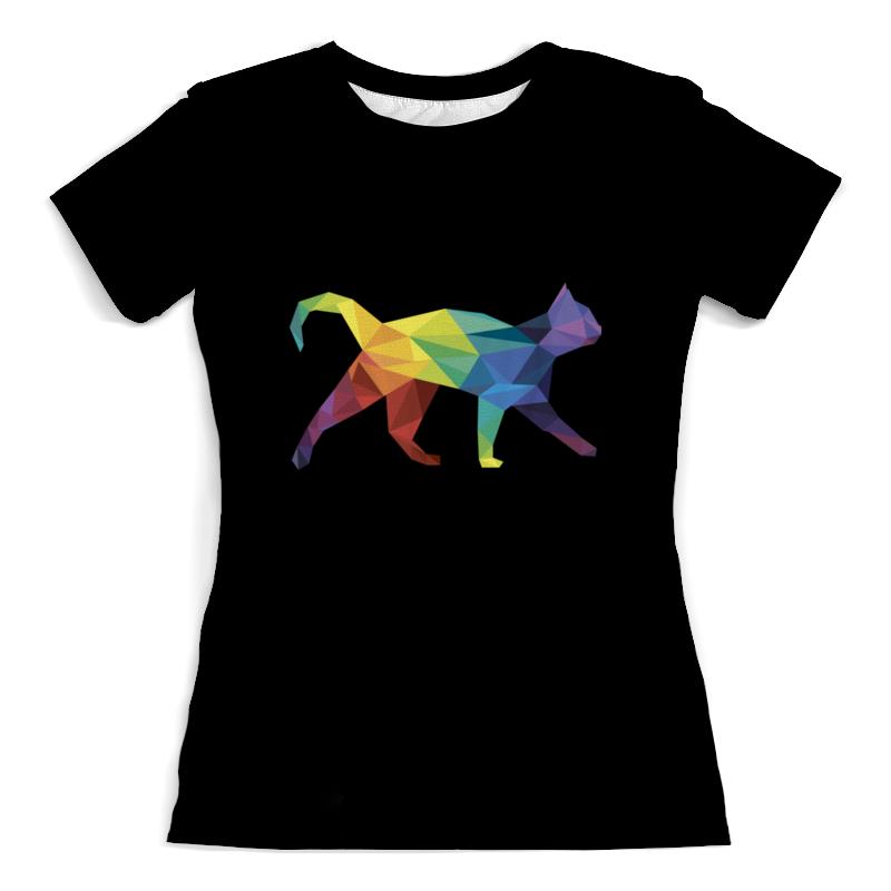 Футболка с полной запечаткой (женская) Printio Прямолинейное кошка футболка с полной запечаткой женская printio кошка