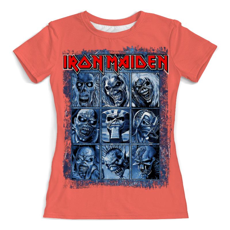 Футболка с полной запечаткой (женская) Printio Iron maiden band футболка с полной запечаткой мужская printio iron maiden