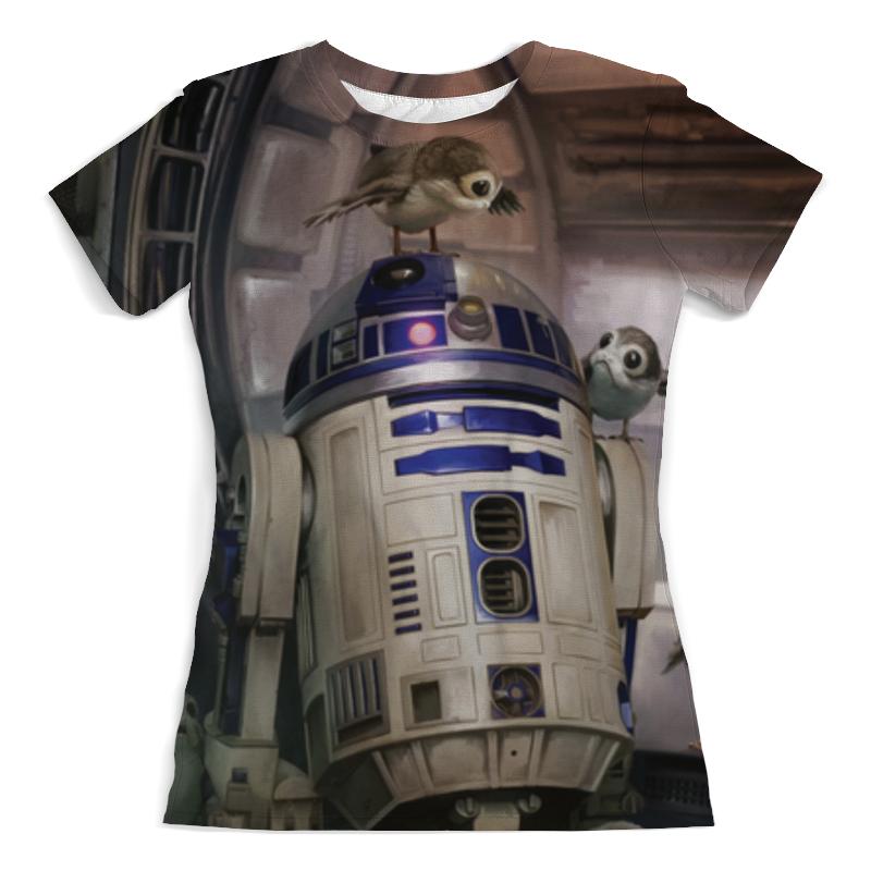 Printio Звездные войны - r2-d2 футболка с полной запечаткой женская printio star wars r2 d2