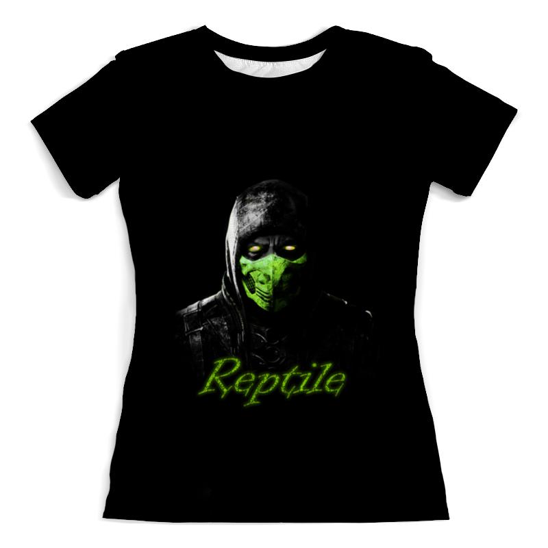 Футболка с полной запечаткой (женская) Printio Reptile футболка с полной запечаткой женская printio воздушные шары