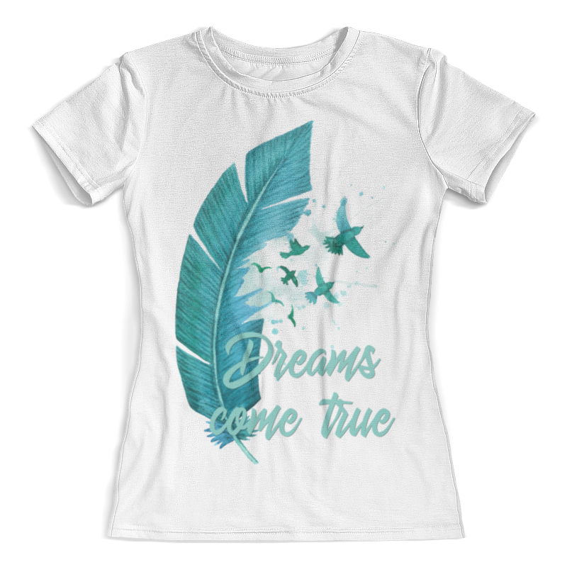Футболка с полной запечаткой (женская) Printio Dreams come true футболка с полной запечаткой женская printio dreams