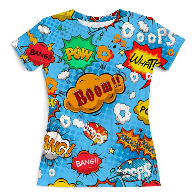 Фото - Футболка с полной запечаткой (женская) Printio Pop art футболка с полной запечаткой женская printio pop art