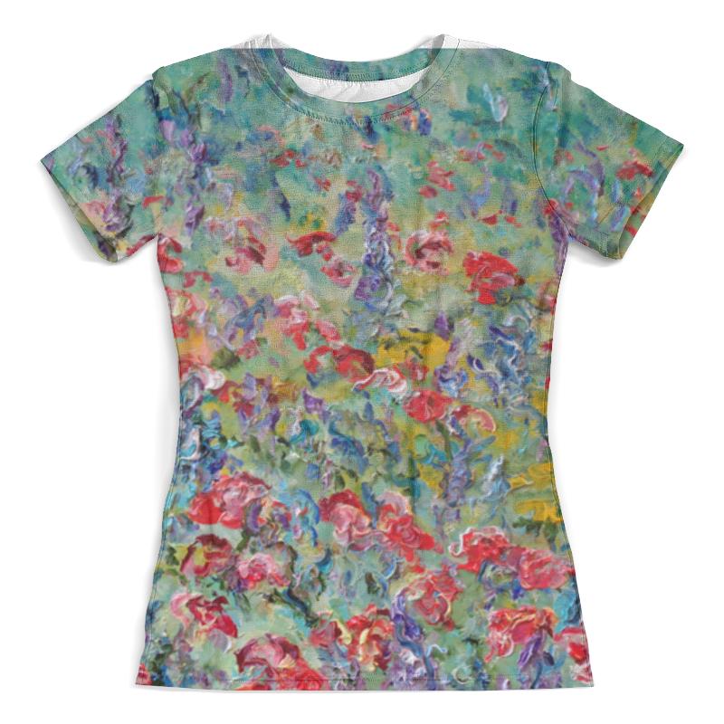 Футболка с полной запечаткой (женская) Printio Половодье чувств футболка с полной запечаткой женская printio счастье