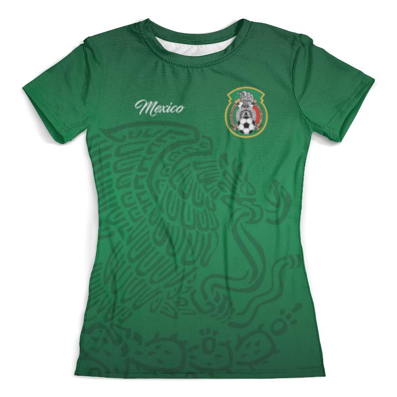 Футболка с полной запечаткой (женская) Printio Сборная мексики охотники в прериях мексики