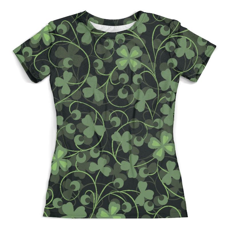 Футболка с полной запечаткой (женская) Printio Клевер футболка с полной запечаткой мужская printio клевер