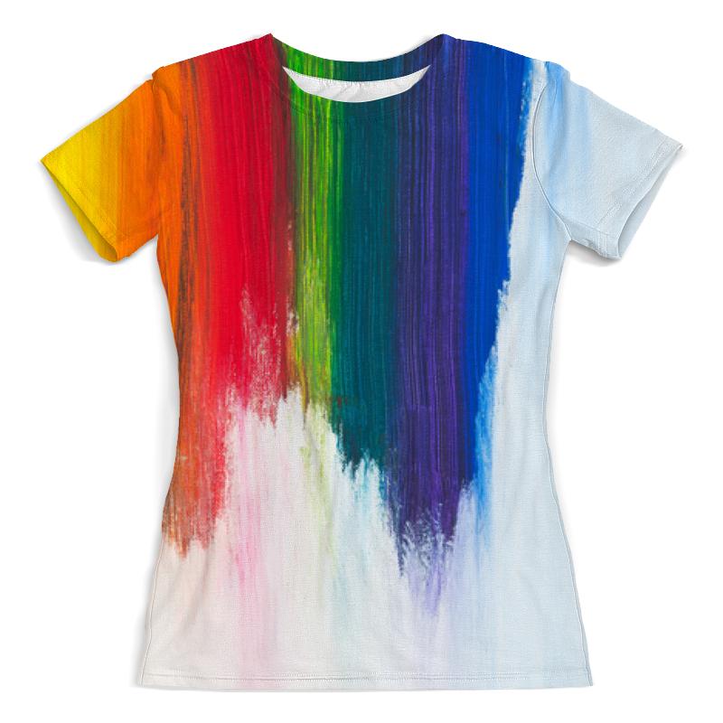 Printio Rainbow футболка с полной запечаткой женская printio broken rainbow