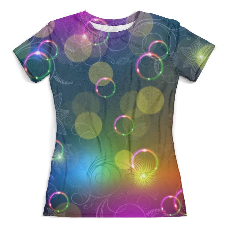 Футболка с полной запечаткой (женская) Printio Калейдоскоп футболка классическая printio муравьед с цветами