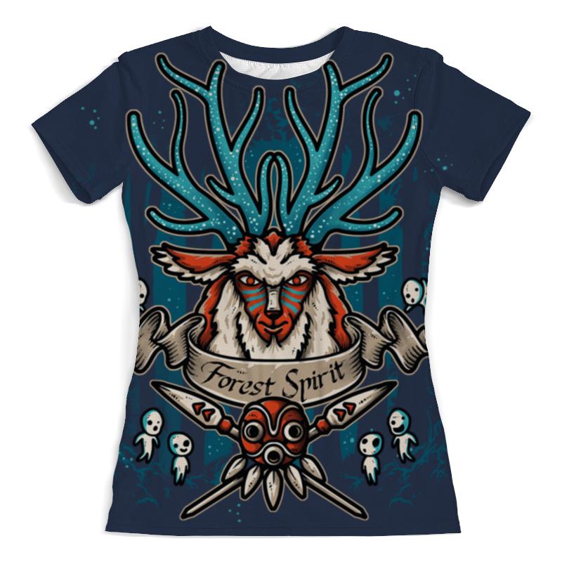 Printio Forest spirit. лесной дух футболка с полной запечаткой для мальчиков printio forest spirit лесной дух