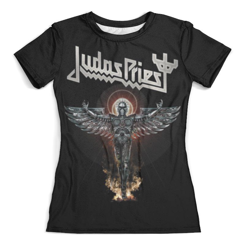 Футболка с полной запечаткой (женская) Printio Judas priest футболка с полной запечаткой женская printio judas priest